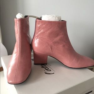 Pink boots, still with it box